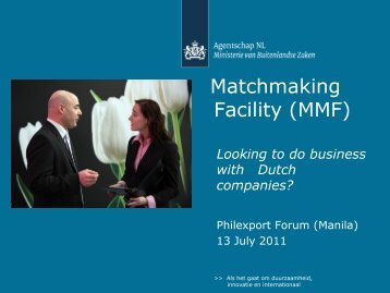 Matchmaking event of Albanian Agribusiness Support Facility project