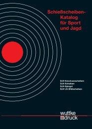 Schießscheiben- Katalog für Sport und Jagd