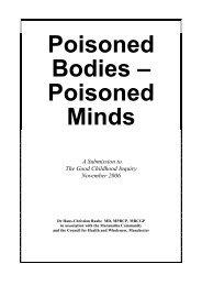 Poisoned Bodies – Poisoned Minds