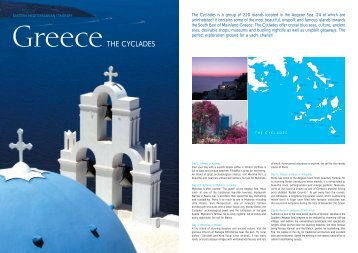 THE CYCLADES - Carte Blanche Travel
