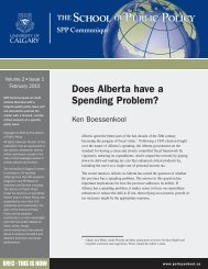 ALBERTA'S FISCAL APPROACH LOOKING BACK