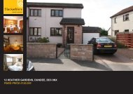 12 HEATHER GARDENS DUNDEE DD3 0NX FIXED PRICE £120,000