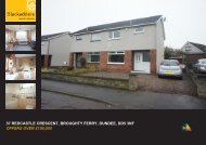 37 redcastle crescent, broughty ferry, dundee, dd5 3nf offers ... - TSPC