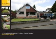 17 FERNDALE DRIVE BROUGHTY FERRY DUNDEE DD5 3DE OFFERS OVER £195,000