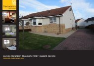 39 AVON CRESCENT BROUGHTY FERRY DUNDEE DD5 3TX OFFERS OVER £142,000