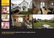 20 LIME GROVE BALDOVIE BROUGHTY FERRY DUNDEE DD5 3GJ OFFERS OVER £215,000