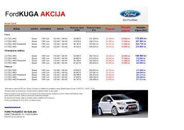Image Result For Ford Kuga Akcija