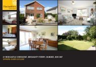 21 REDCASTLE CRESCENT BROUGHTY FERRY DUNDEE DD5 3NF OFFERS OVER £215,000
