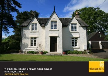 the school house, 4 benvie road, fowlis dundee, dd2 5sa ... - TSPC