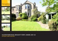 100 strathern road, broughty ferry, dundee, dd5 1js offers ... - TSPC