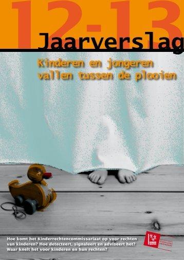 Jaarverslag Kinderrechtencommissariaat 2012-2013