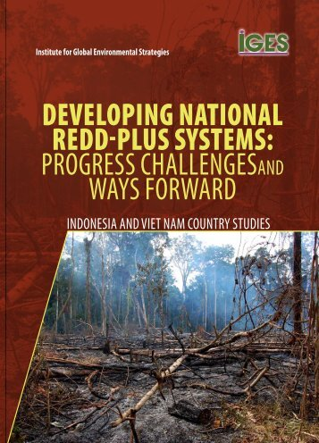 Developing National REDD-plus Systems - IGES EnviroScope