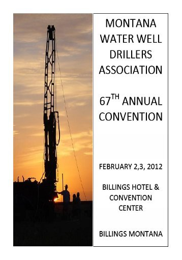 Contractor Members - Montana Water Well Drillers Association