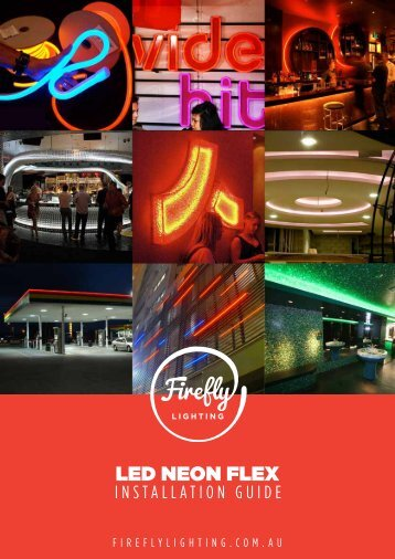 LED NEON FLEX - Firefly Lighting