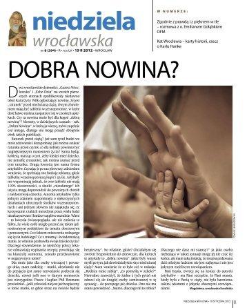 niedziela wrocławska - Radio Rodzina