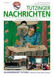 tutzing report - Tutzinger Nachrichten