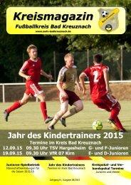Kreismagazin Fußballkreis Bad Kreuznach 08/15
