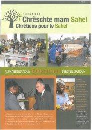 hte mam Sahel - Cercle de coopération