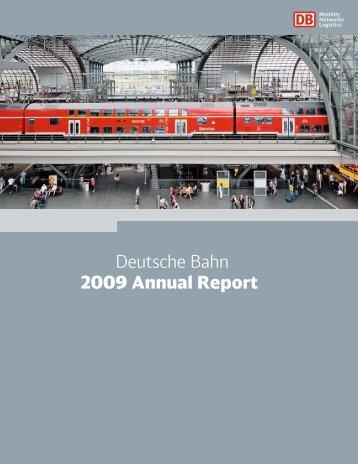 Deutsche Bahn 2009 Annual Report - Deutsche Bahn AG