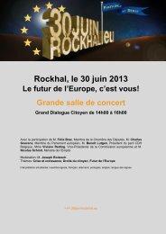 Rockhal le 30 juin 2013