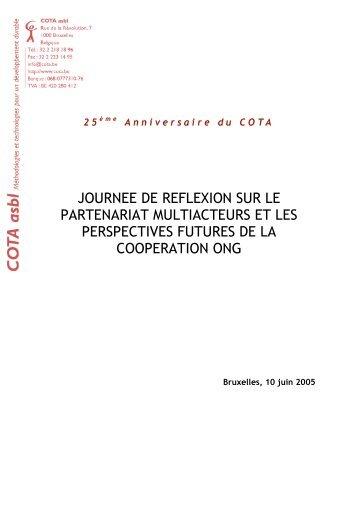 Télécharger le document - Cercle de coopération