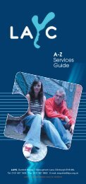 A-Z Services Guide