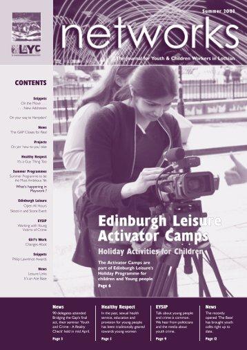 Edinburgh Leisure Activator Camps