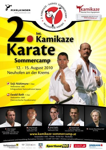Kamikaze Karate Sommercamp
