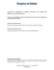 O Parque Estadual das Fontes do Ipiranga e o Museu Paulista ...