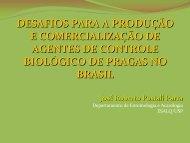 BIOLÓGICO DE PRAGAS NO BRASIL