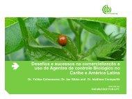 Desafios e sucessos na comercialização e uso de Agentes de ...