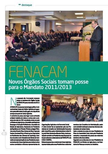 Novos Órgãos Sociais tomam posse para o Mandato ... - Confagri