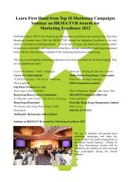 Learn First Hand from Top 10 Marketing Campaigns Seminar on ...