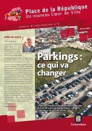 Lettre n°2 - Ville de Fontainebleau