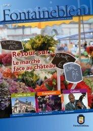 Magazine n°40 - Ville de Fontainebleau