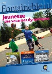 Magazine n°31 (PDF – 8.2 Mo) mai - Fontainebleau