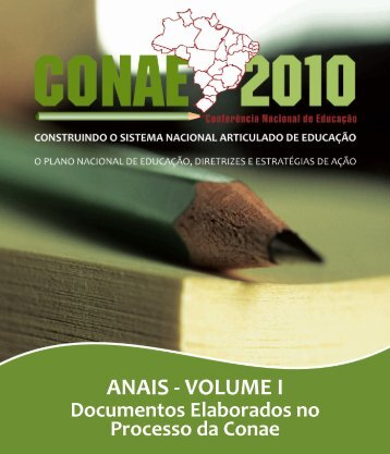 ANAIS - VOLUME I