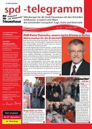 MdB Dieter Steinecke, unsere starke Stimme in Berlin!