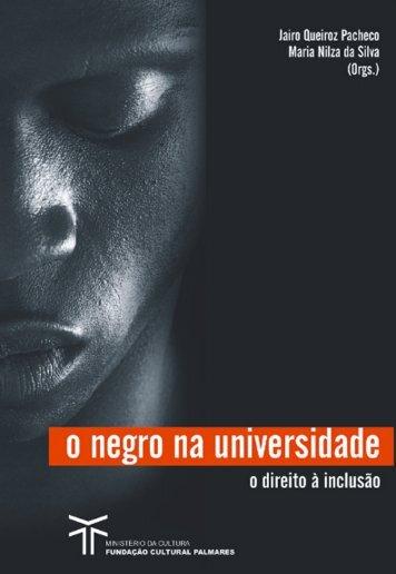 o negro na universidade