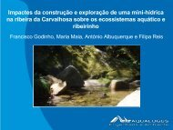 impactes da construção e exploração de uma mini-hídrica na ... - APAI