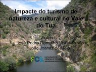 Impacte do turismo de natureza e cultural no Vale do Tua