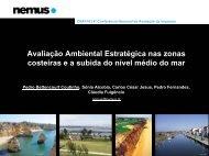 Avaliação Ambiental Estratégica nas Zonas Costeiras e a ... - APAI
