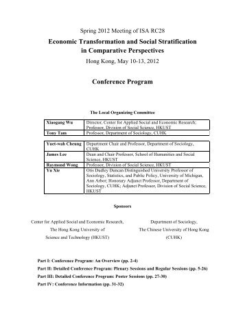 economic transformation and social stratification in comparative