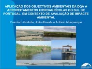 Aplicação dos objectivos ambientais da DQA a ... - APAI