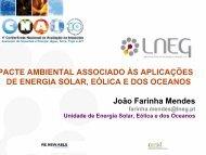 DE ENERGIA SOLAR EÓLICA E DOS OCEANOS João Farinha Mendes