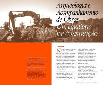Arqueologia e acompanhamento de obras, um equilíbrio em ... - APAI