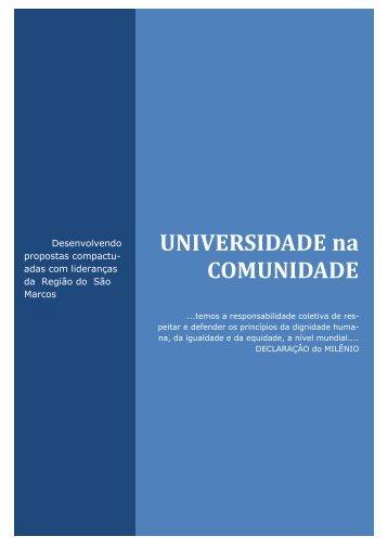 UNIVERSIDADE na COMUNIDADE