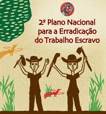 2º- Plano Nacional para Erradicação do Trabalho - Repórter Brasil