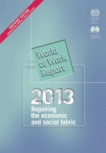 Repairing the economic and social fabric - International Labour ...