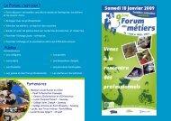 Le Forum, c'est quoi - Communauté de Communes Loire et Sillon